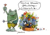Tausend Blumen Geburtstagswünsche Little Tiger Verlag Gmbh