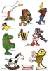 Janosch-Figuren - Sticker